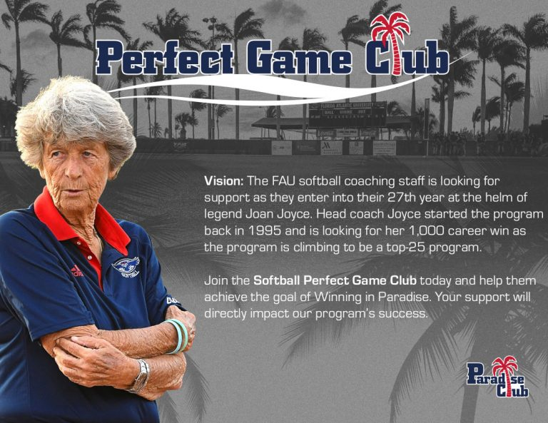 Women's Softball Vision Statement