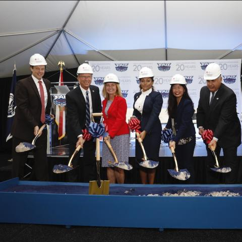 jupiter ground breaking ceremony
